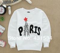 Продажа 1piece/много 100% хлопок девушка Толстовки рубашки свитер флизы 00060