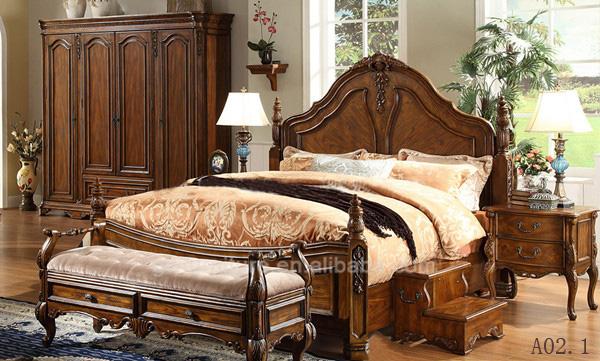 renaissance solid wood bedroom furniture black wood bedroom furniture