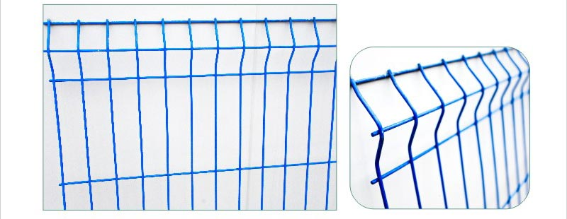 Pvc coated cheap wrought iron metal fence panels for sale