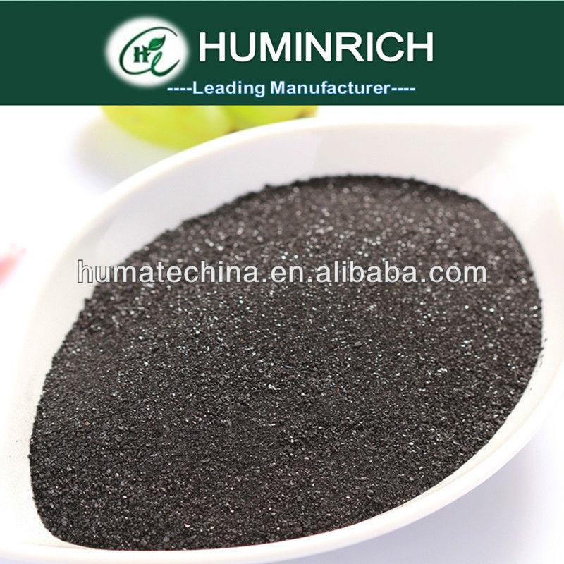 Potassium Humate Fulvic Shiny Powder Humus Acid