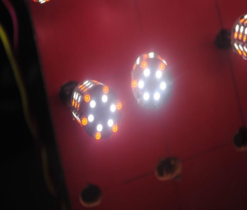 Vivid Two-Tone 3156/3157 Wedge Car LED Brake Light 60SMD3528