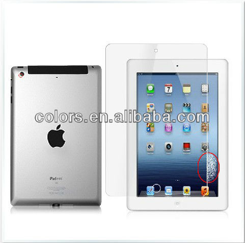 Japan Material anti-scratch For ipad mini Clear Screen Protector