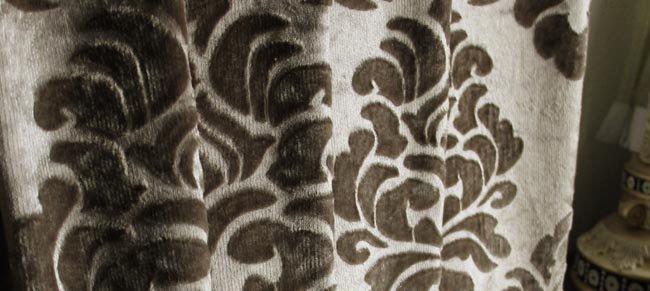 Custom size, cheap made to measure velvet curtains,media room ...