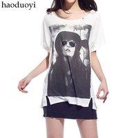 Женская футболка loose /epacket mail
