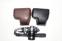 new popular free shipping  leather case camera bag for Canon SX30 SX40  wholesale