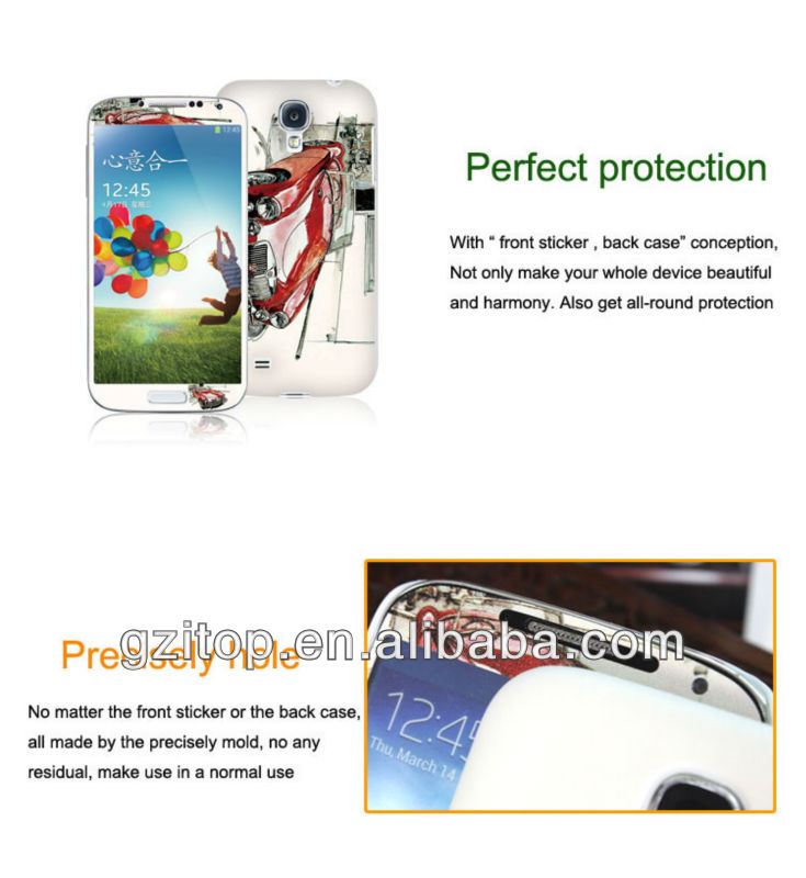 guangzhou mobile phone accessories factory in china case for S4