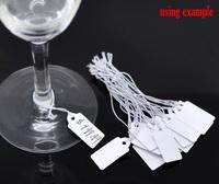 Этикетки для ювелирных изделии 200 String Price Label Paper Pricing Tags 22x13mm