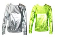 Женские толстовки и Кофты shoping Woman fashion metal color light orange sweater TB 2300