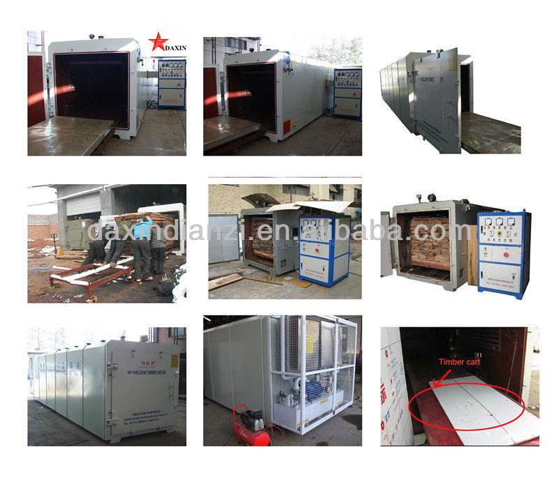 HF Vacuum wood/timber/lumber dryer machine