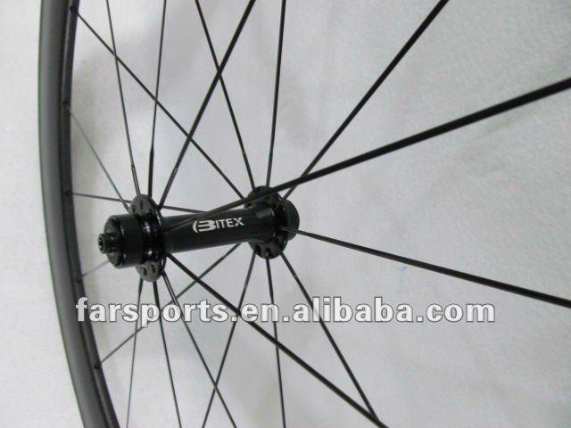 Super Light 50mm tubular carbon bicycle wheel,1203g
