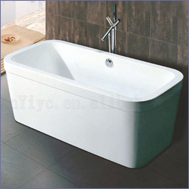 1300 mm acrylique baignoire simple petite baignoire sur for Petit baignoires