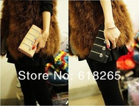 The new female money to restore ancient ways rivet wallet/purse zipper