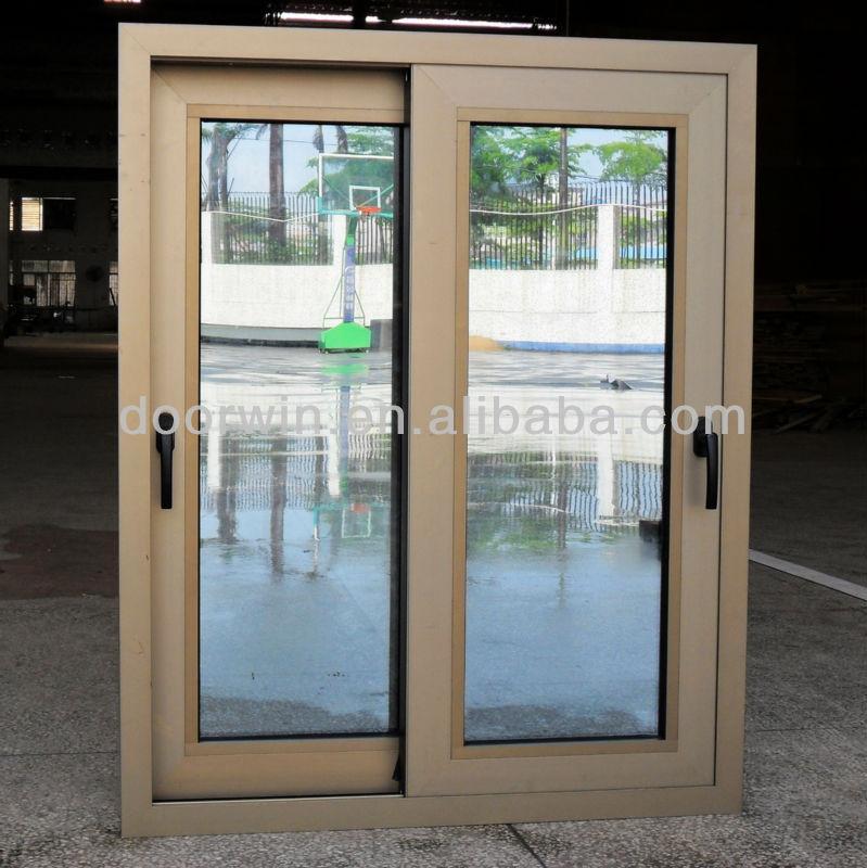 Thermal break aluminium sliding door with low e glass for Aluminium sliding patio doors
