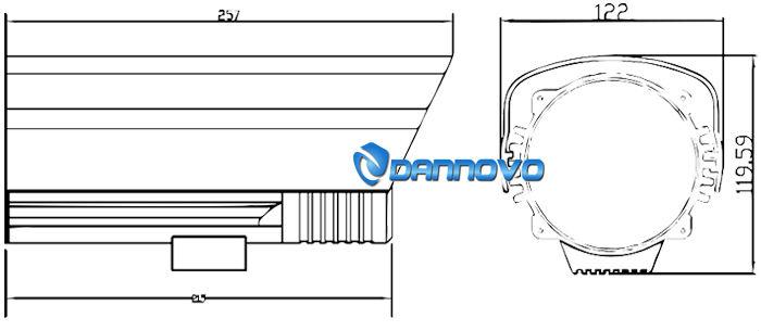 Dannovo 2.0 megapixel telecamera ip wireless hd, 1080p telecamera ip outdoor impermeabile 50m ir, 5-15mm varifocal