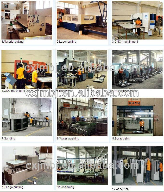 OEM Customized Sheet Metal Box/Aluminium Tool Box in Foshan China