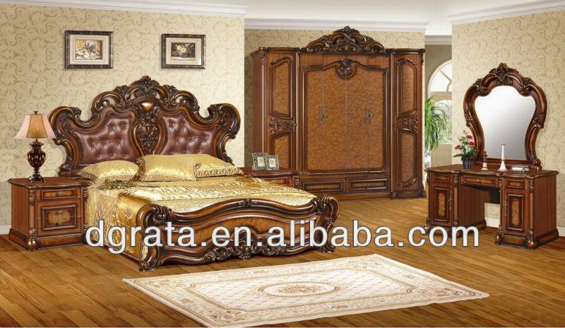 2013 europa estilo clásico utilizado muebles de madera sólida ...