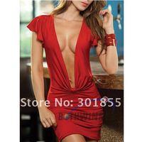 Женское эротическое боди Lady Sexy lingerie costume sexy lingerie babydoll set dress Teddy Romper Stripper Wear Victorian corset size