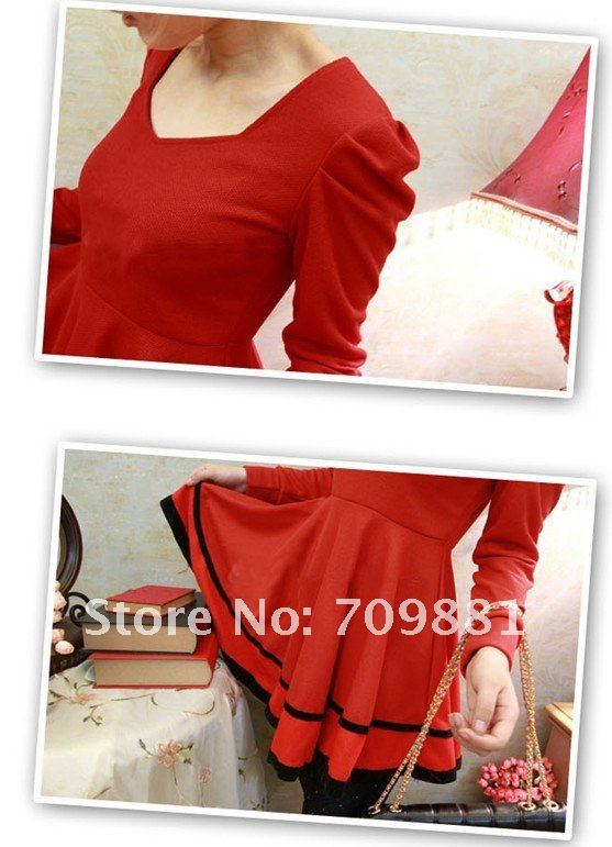 Fashion Long Sleeves Dress