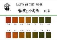 Офисные и Школьные принадлежности 10pc/lot saliva PH Test Paper Full Range 10 Strips Tester