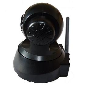 Free shipping dropshipping All-in-One IR Nightvision Webcam 2 way Audio Internet PTZ Wireless ip network camera