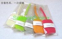 Min Order $20 (mixed order) Retail Multi Function Colorful Silicon Key Case / Cute Zero Purse  (SG-47)
