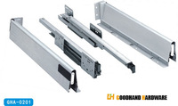 Слайды Top Sale Soft Closing Metal Drawer Slide