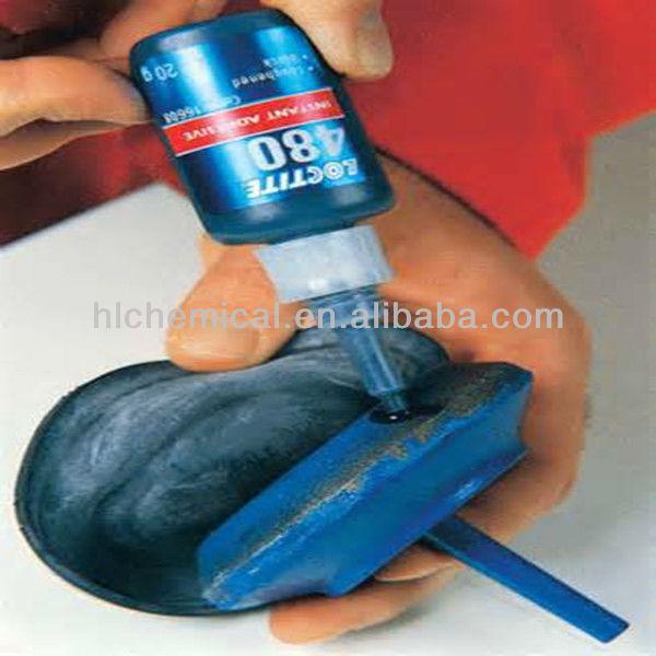 Loctite 480 Black Instant Adhesive Super Glue for rubber