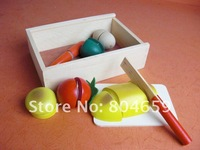 small wooden toys wooden fruit and cut the fun new Educational Toys