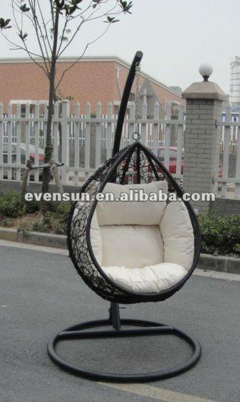 3 unids mimbre sillas colgantes silla de jard n - Sillas colgantes del techo ...