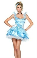 Рекламный костюм New! arrive! Late Nite Sexy Maid costumes, women halloween apparel