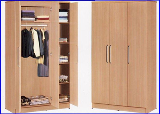 Simple design wooden wardrobe buy wooden wardrobe wooden for Cloth cabinet design
