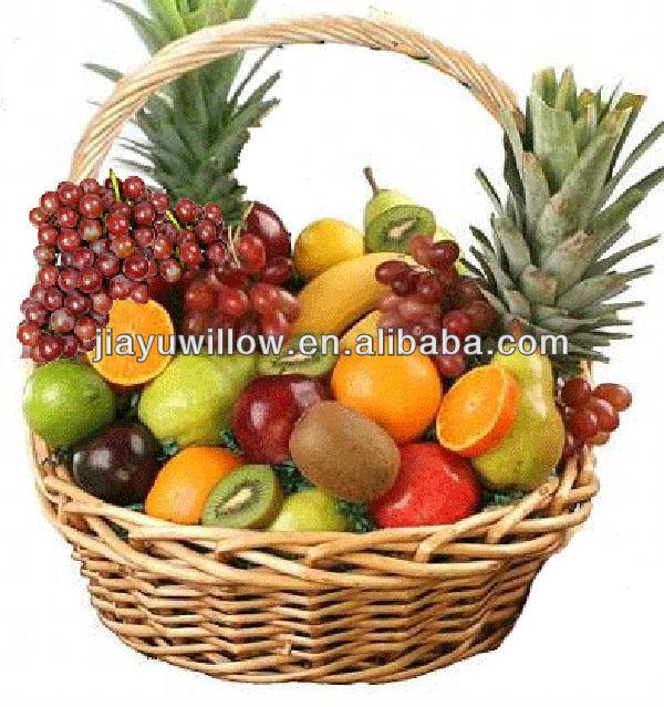 Superbe De Mariage Fruits En Osier D 233 Coration Panier De