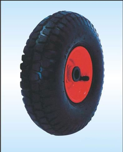 Wheelbarrow rubber wheel /solid wheel 3.50-8