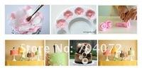 ручной плесень 34 x Фондант поршень резак кондитерских глины глины торт украшать 11sets инструменты Фондант плесени