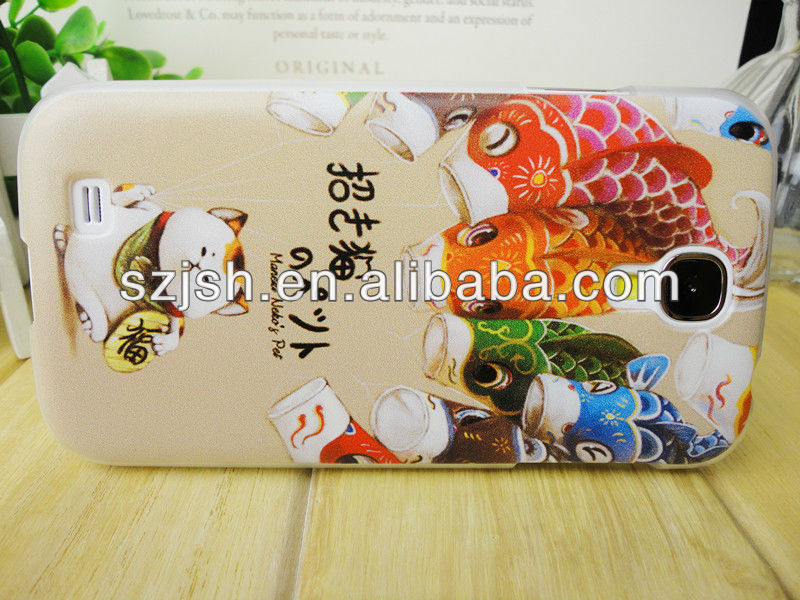 Customize IMD Fortune Cat cellphone case for samsung S4
