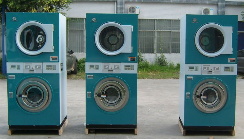wash and dryer combo machine