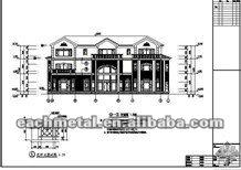 Luxury Light steel villa for Fireproof & Shockproof