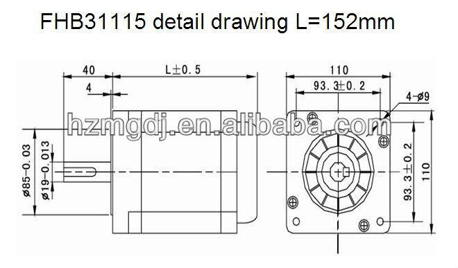 FHB31115 detail drawing