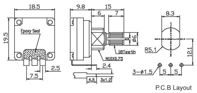 RP16K4P-seal type