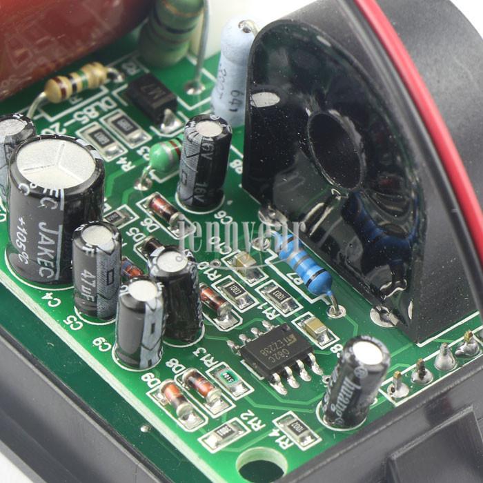 Тонкий LED Цифровые амперметры