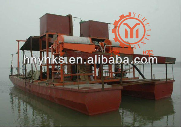 high gradient magnetic separator for iron ore with ISO9001