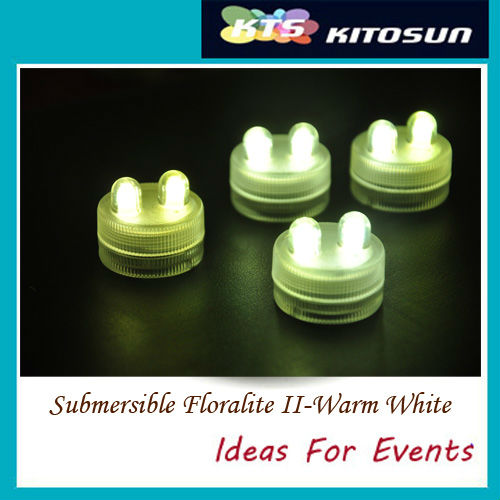 Submersible Floralite II-Warm White
