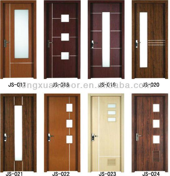 Bedroom Bathroom Door With Glass Design - Buy Bathroom Design,Pvc Door ...