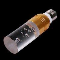 Кристалл цвета RGB 16 led лампа e27 3w переменного тока 90-240v привело лампочки + пульт дистанционного управления