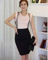 Женская юбка Fashion women lady's sexy skinny knee business office hight waist Skirts S M L 4 color for choose