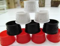 Free shipping(20pcs/lot)badminton racket rubber ring/handle's rubber bushing/badminton racquet/overgrip