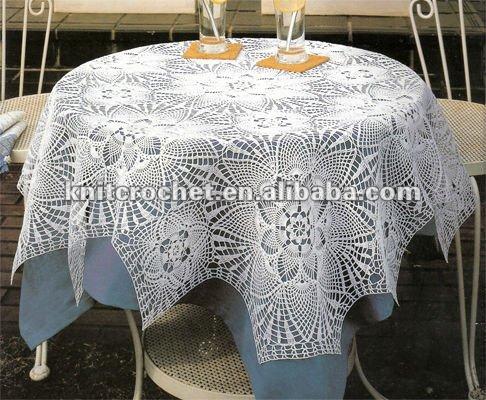 Tricoter une nappe de table for Une nappe de table