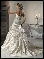 Свадебное платье New Style Sweetheart Strapless Wedding Dress 2012 With Pleats MD-B074