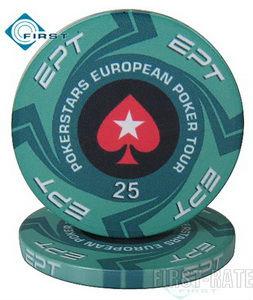 Poker Stars Casino EPT Chips Ceramic Custom