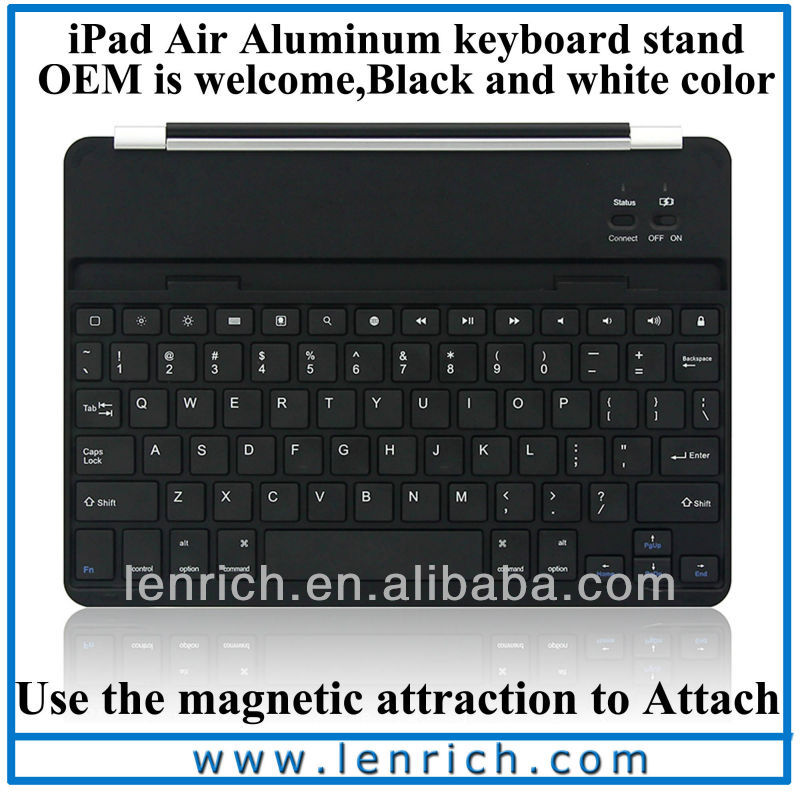 LBK174 2014 Ultra Slim Aluminium Keyboard Bluetooth for iPad Air 5